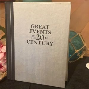 Greatest events of the 20th century book